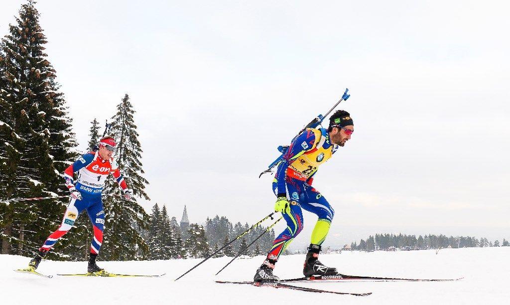 Biathlon: Fourcade en route pour le Grand Chelem aux Mondiaux d'Oslo