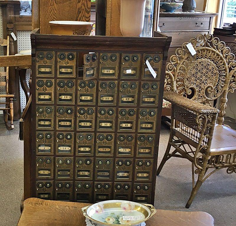 Antique Post Office Bo Dealer 407