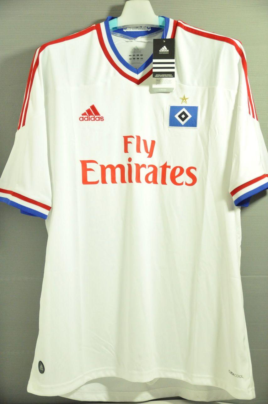 Hamburger SV Hamburg Replica Home soccer Jersey Shirt Bundesliga ... 96db8c137475f