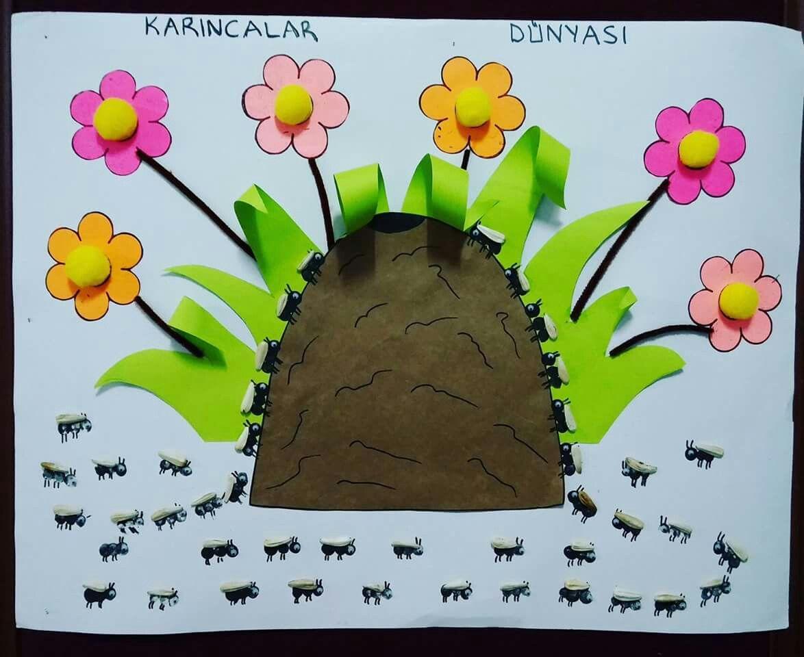 Pin by Feyzanur ESMEK on Sanat Etkinliği | Pinterest | Kid ...