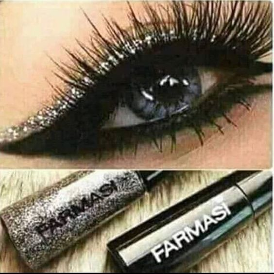 Farmasi Eye Liner, look how glam!