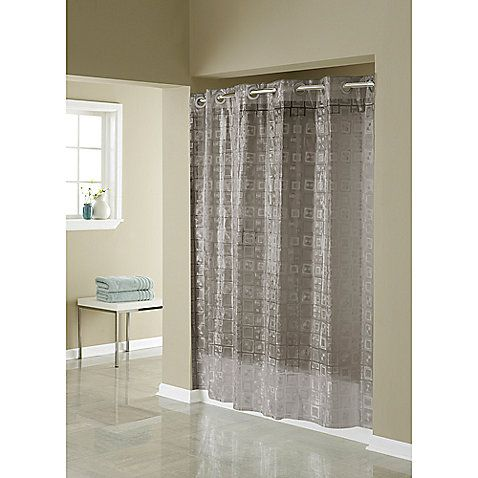 This Innovative Shower Curtain Offers No Hassles Thanks To The Patented Flex On Rings That Eliminate Need Buy And Dealing With