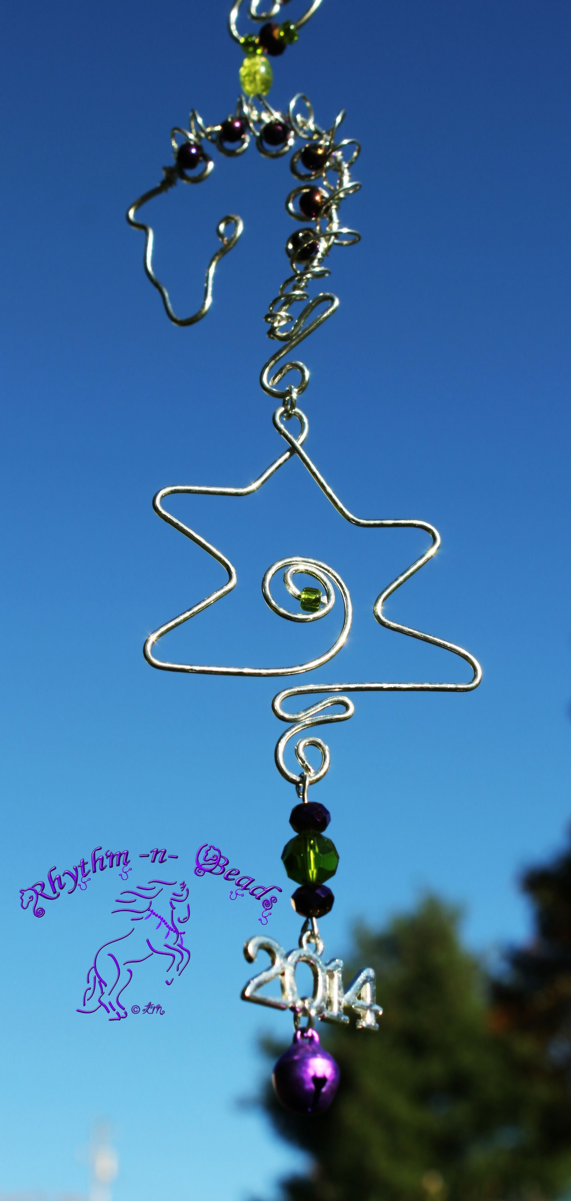 Wired Whinnies ~ by Rhythm-n-Beads TM are whimsical wire horse ...