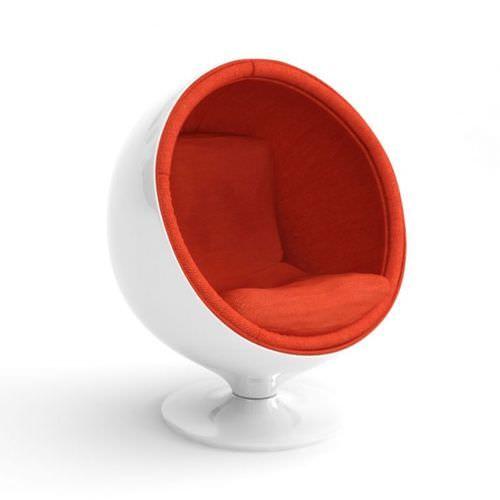 Retro White Egg Chair 3d Model Obj 1 Egg Chair Chair Ikea Chair