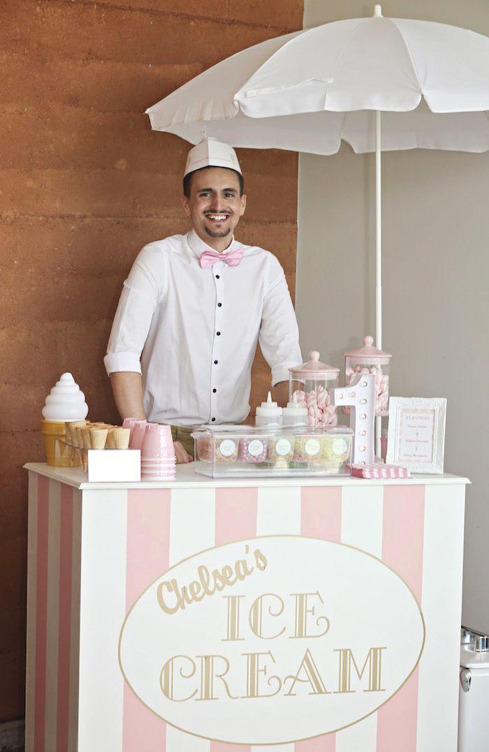 Pretty Pastel Ice Cream Party | Kara's Party Ideas