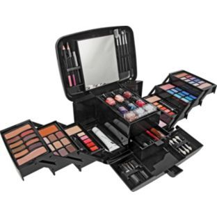 Buy Pretty Pink Deluxe Make Up Set And Cosmetics Case At