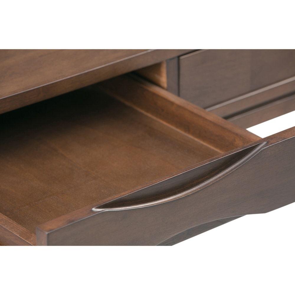 Wyndenhall Pearson Solid Hardwood Mid Century Modern 60 Inch Wide