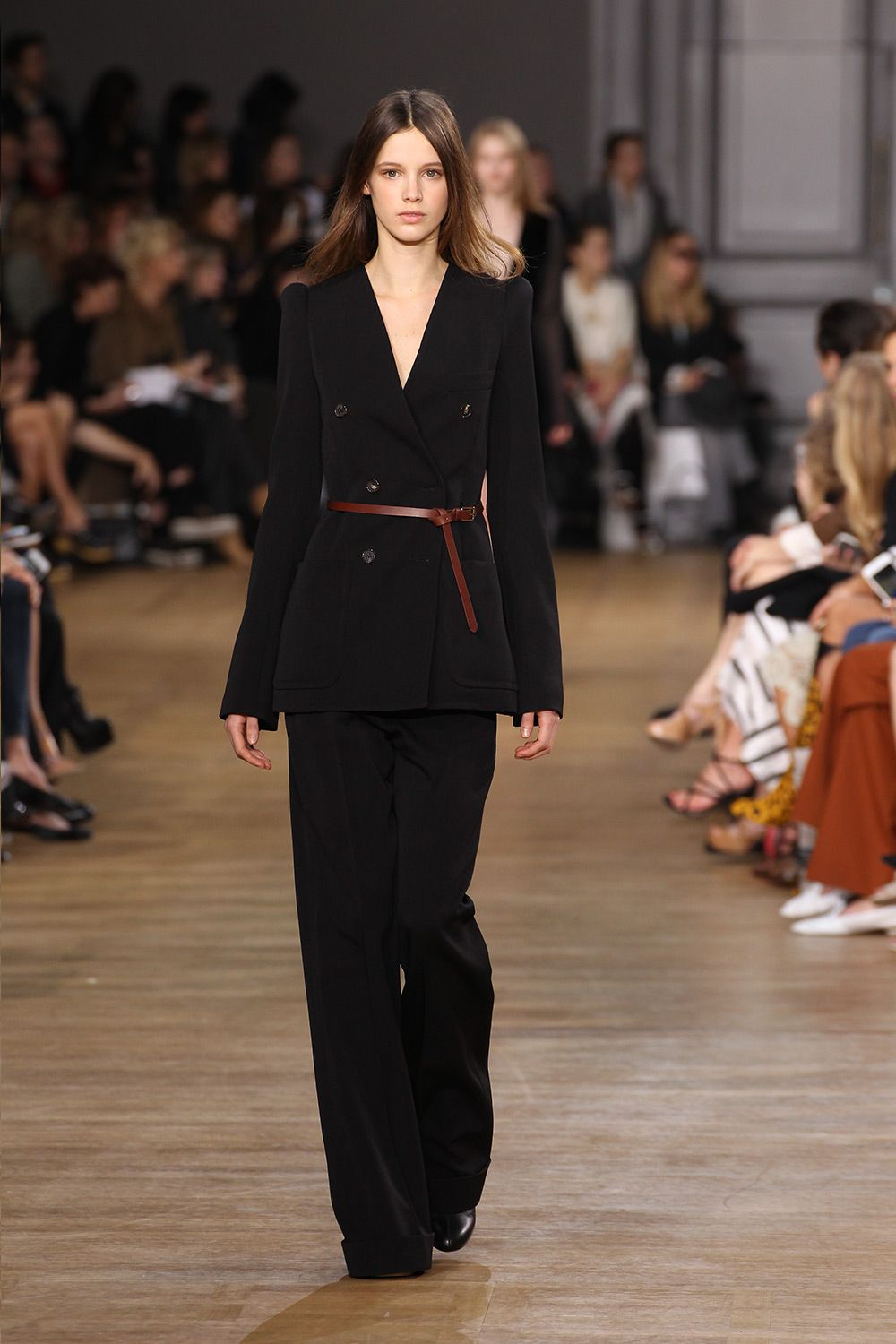 Look 37 from the Chloé Fall-Winter 2015 runway