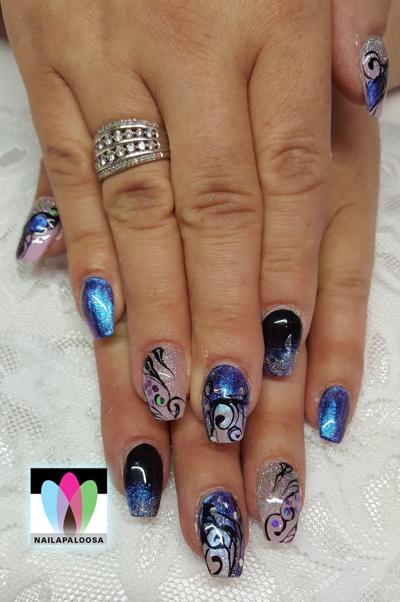Pin de Liliana Esposito en Cool Gel Nails! | Arte de uñas ...
