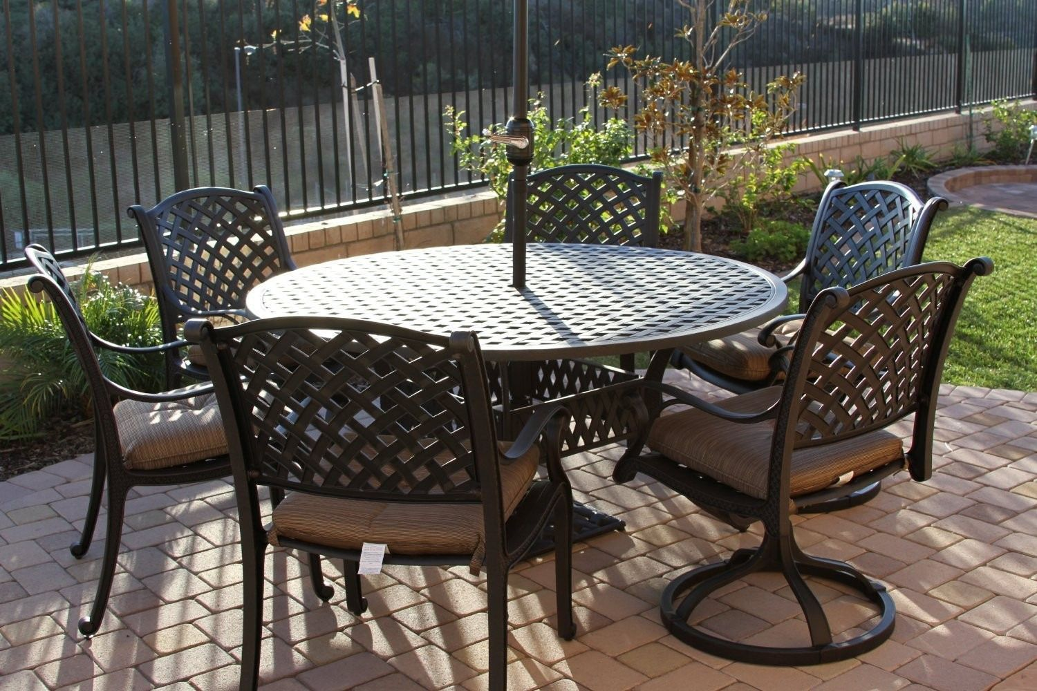 100+ 60 Inch Round Patio Table Sets - Best Paint for Wood Furniture ...