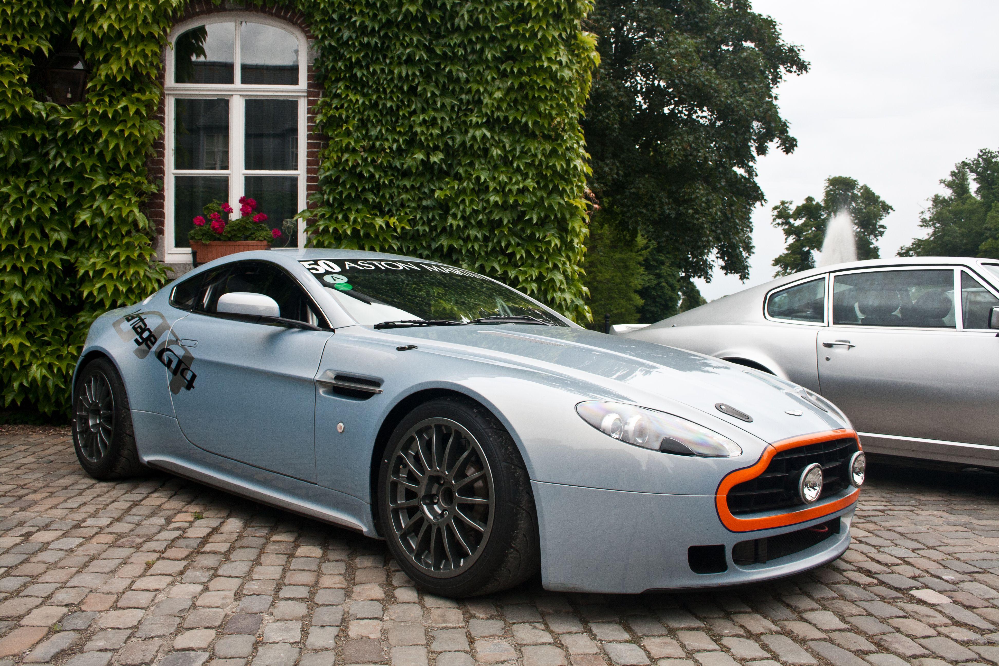Aston Martin V8 Vantage GT4 Αυτοκίνητα Pinterest