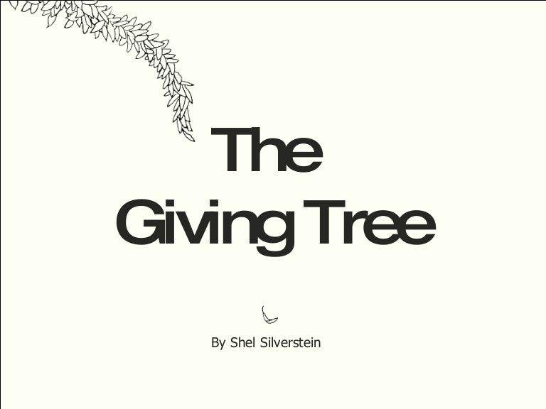 The Giving Tree... perfect for teaching tone, imagery, theme ...