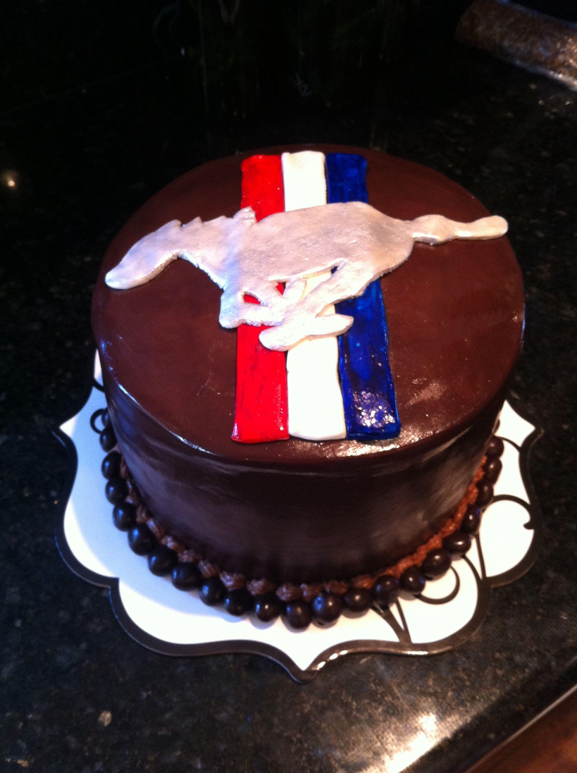 Ford Mustang Cake Mustang Cake Cake Desserts