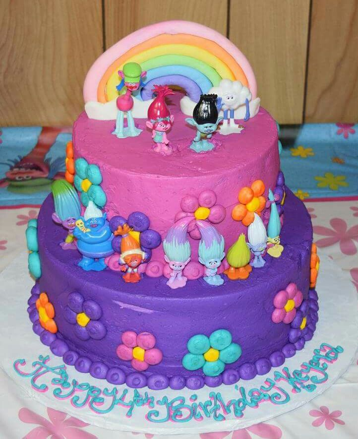 Pin by Tiffany Kirkland on Trolls Birthday Cake ...