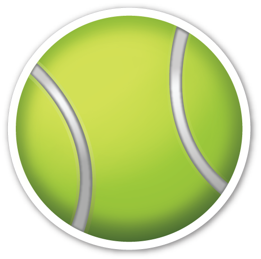 Tennis Racquet And Ball Sports Emojis Tennis Racquet Tennis Photos