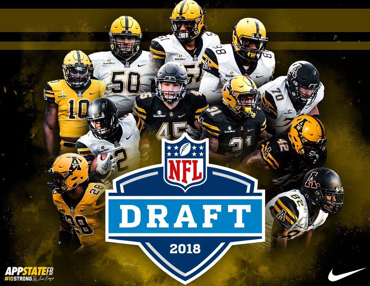 App State Football helmets, Nfl, Nfl draft