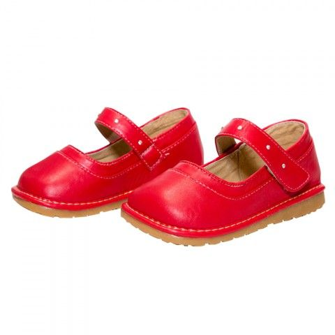 Hop n Squeak Rhianna Red Mary Janes. Available at Wauwaa http://bit.ly/1svfKc0 #AutumnDays