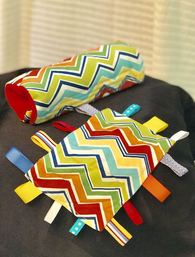 Taggie Toy And Car Seat Handle Cushion Set