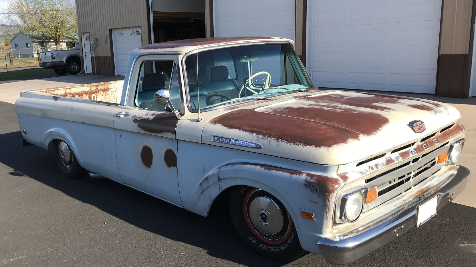 1962 Ford F100 Pickup Presented As Lot F38 At Portland Or Ford Ford Trucks Mecum Auction