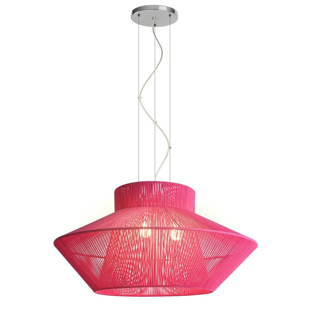 Koord Large Pendant Light Large Pendant Lighting Pendant Light Pink Lamp