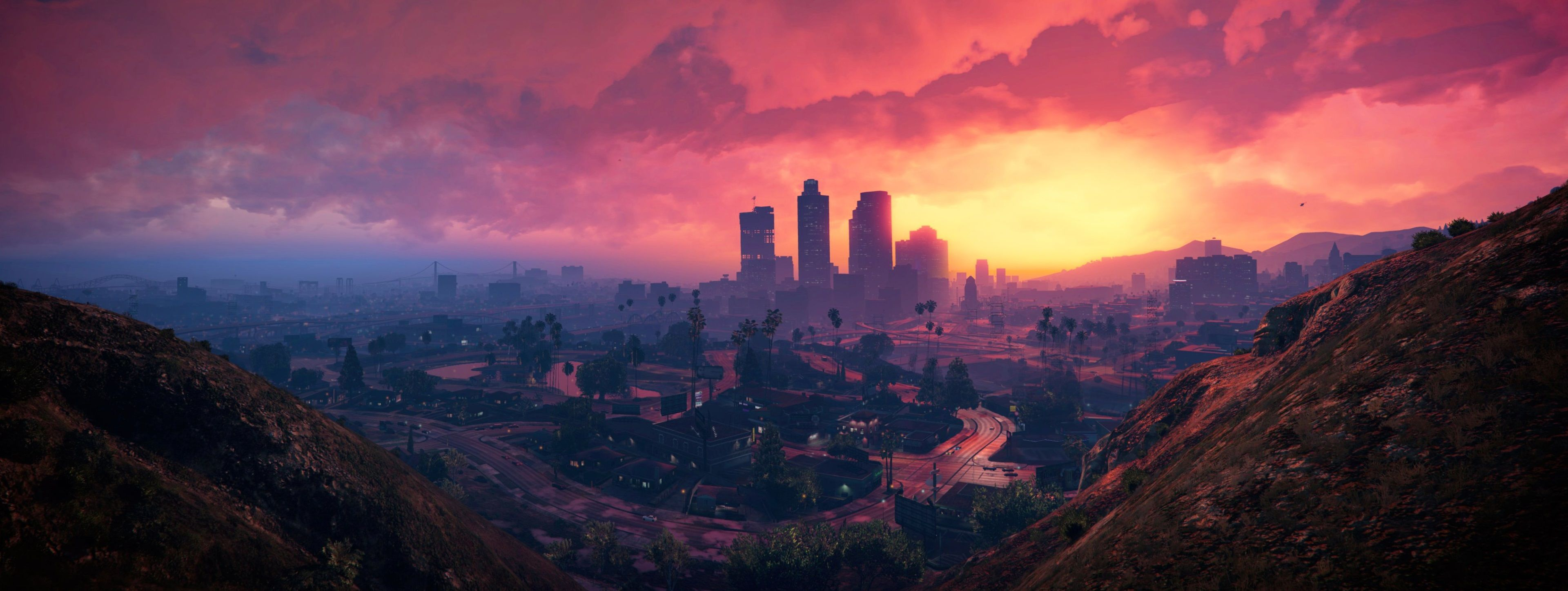 3840x1447 Grand Theft Auto V 4k Pic Of Wallpaper With Images