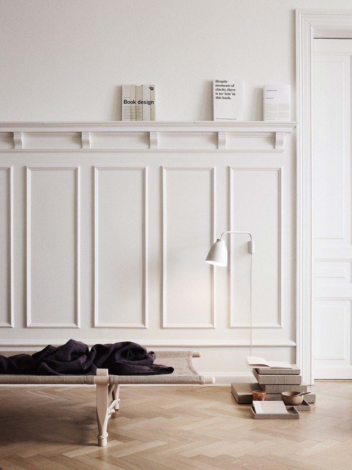 Caravaggio w moulding vert felung wandgestaltung grau for Designerleuchten esszimmer