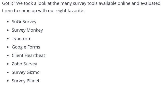 8 Best Survey Tools Create Awesome Surveys For Free Survey