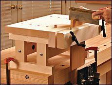 Preview - A Benchtop Bench - Fine Woodworking Article
