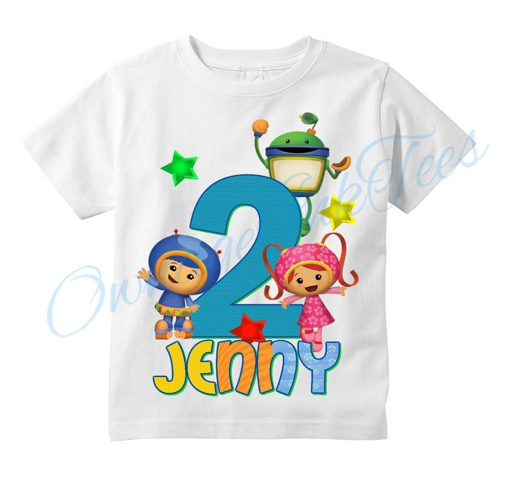 Birthday Custom T-shirts Team Umizoomi Team Umizoomi T-Shirt
