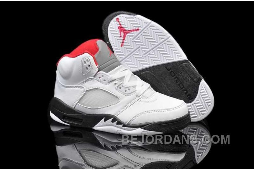 074b7b14b22b Buy Nike Air Jordan 5 Kids Blanco Negro Fire Rojas (Air Jordan 5 Oferta)  from Reliable Nike Air Jordan 5 Kids Blanco Negro Fire Rojas (Air Jordan 5  Oferta) ...