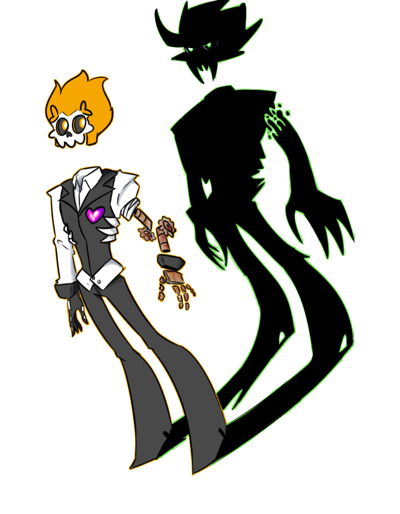 Ghost Oc Mystery Skulls Characters