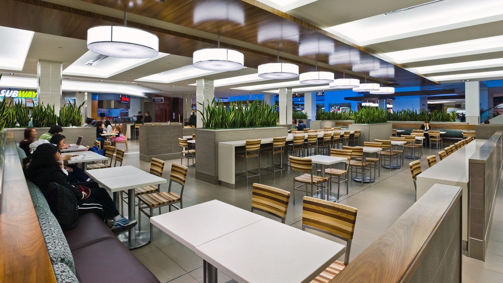 promenades cathédrale food court gha design retail design