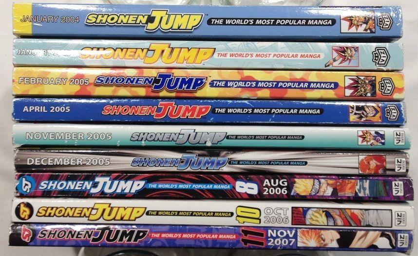 Shonen Jump The World S Most Popular Manga Lot Of 8 Books 2004