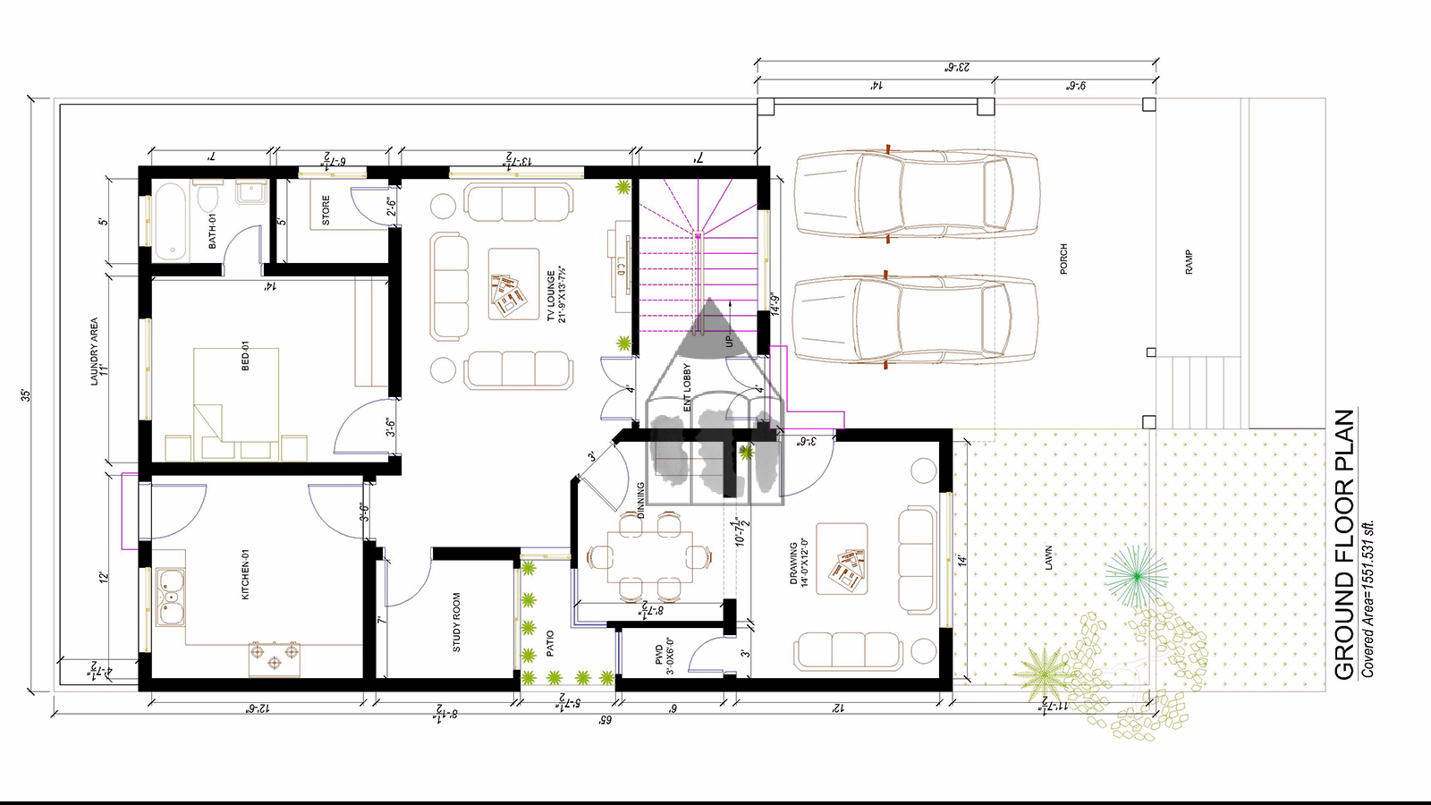 Pakistani house designs 10 marla haris for House plans with maids quarters