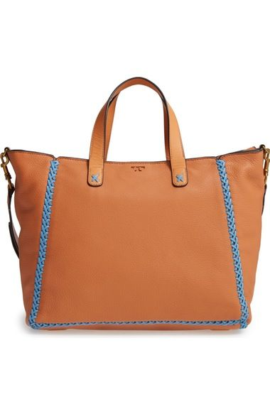 b91a6671dbb Tory Burch Medium Whipstitch Leather Tote available at  Nordstrom ...