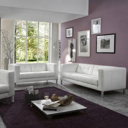 MANHATTAN SHELTER CANAPÉ PLACES FIXE BLANC Decodesign - Canapé 3 places pour deco design