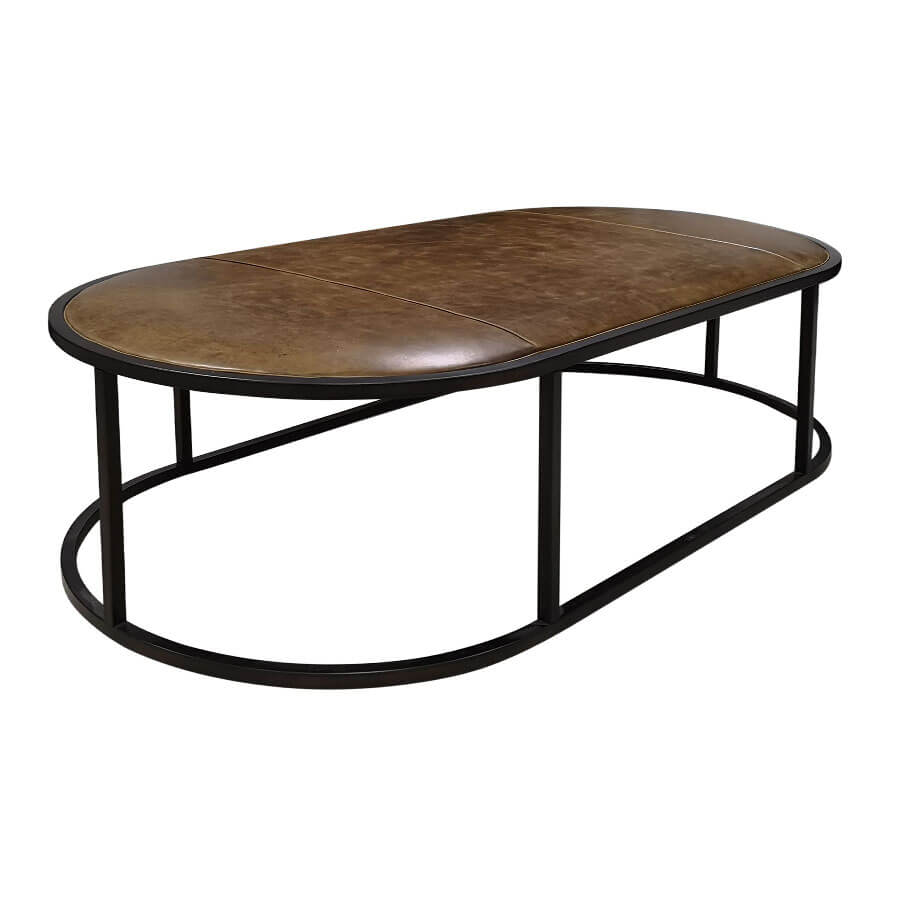 Best Oval Leather Coffee Table Leather Coffee Table Coffee 400 x 300