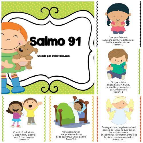 Salmo 91 Salmos Para Ninos Estudios Biblicos Para Ninos Lecciones Biblicas Para Ninos