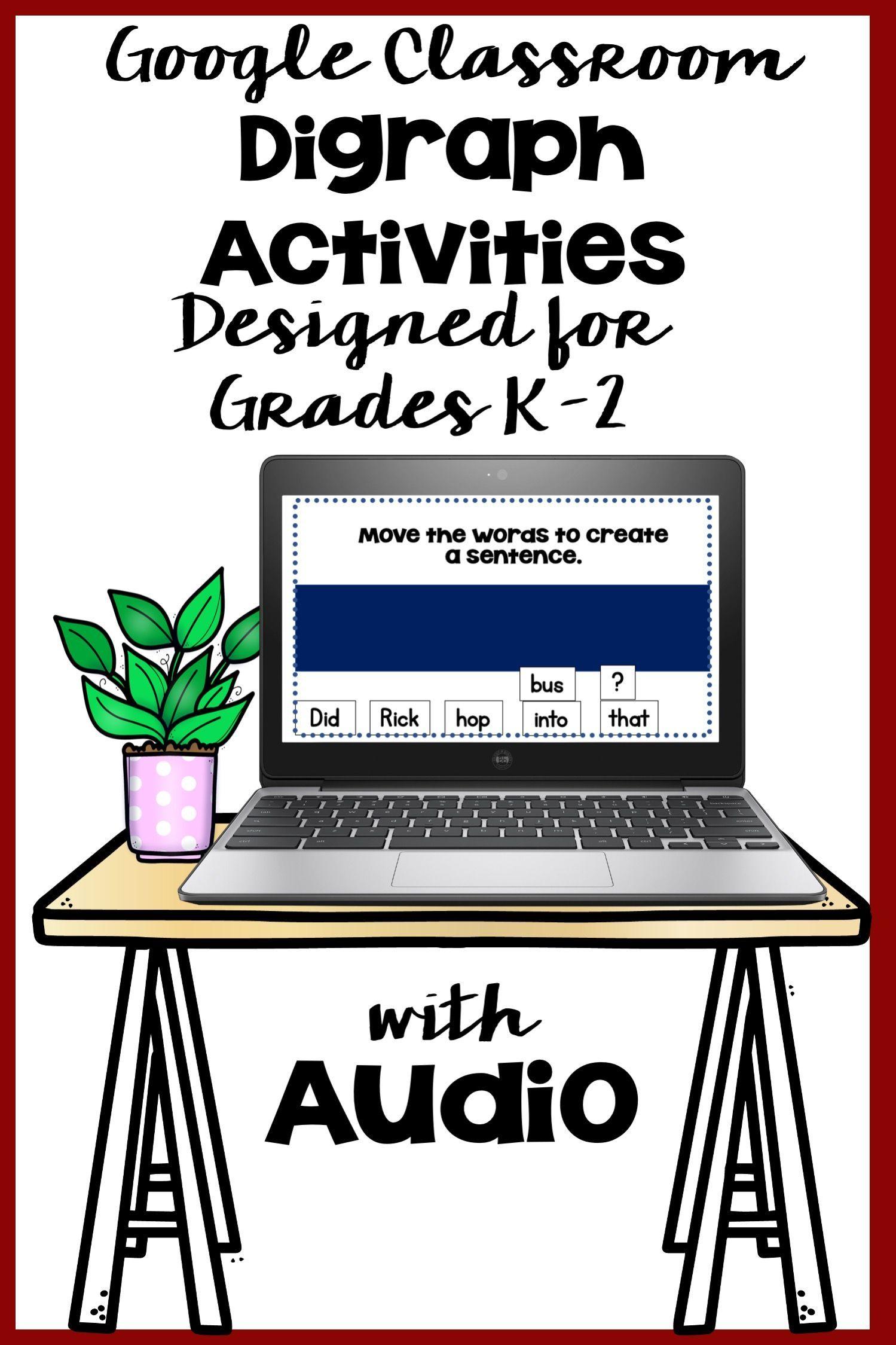 Digraph Activities For Kindergarten In