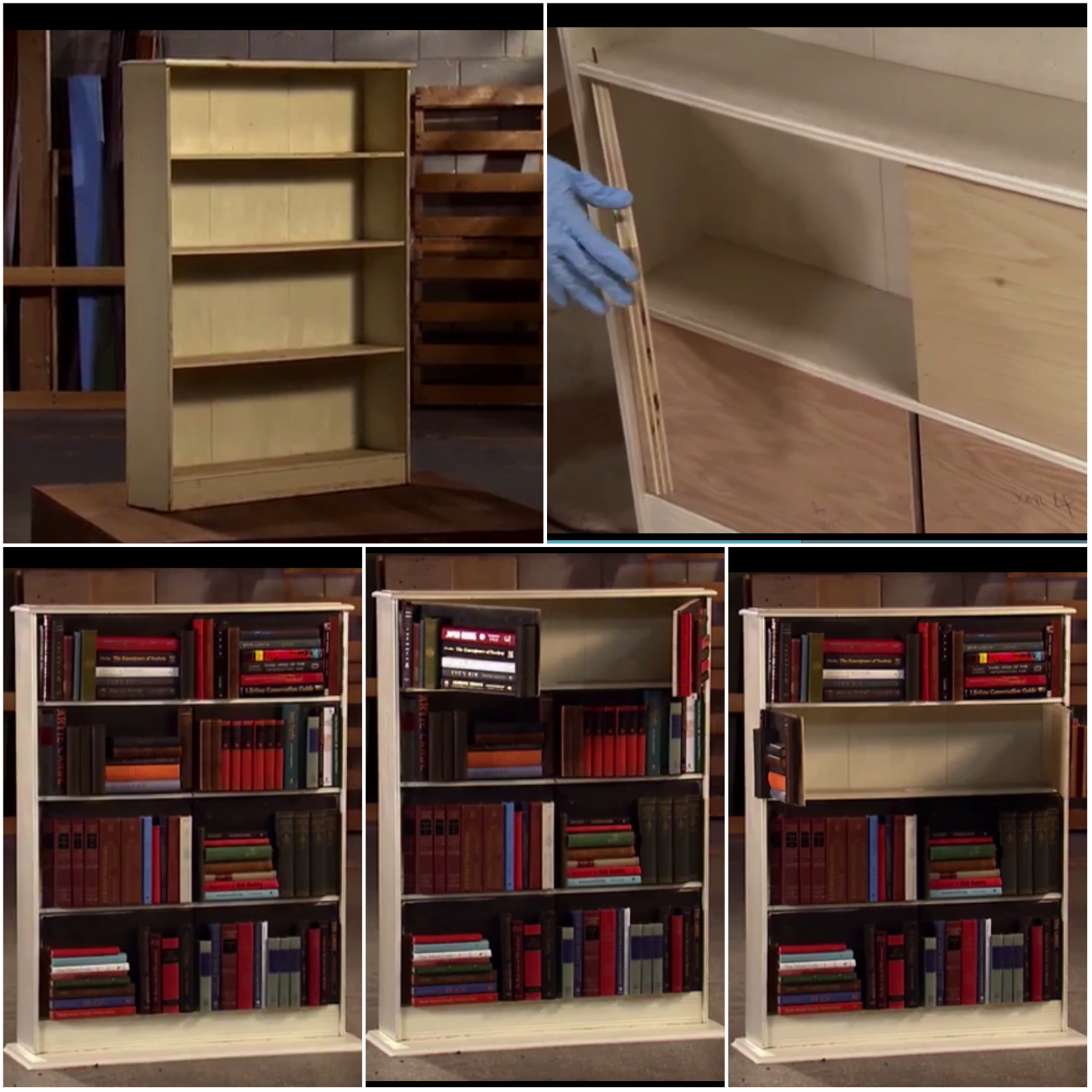 flea market flip has great ideas hidden storage case looks like
