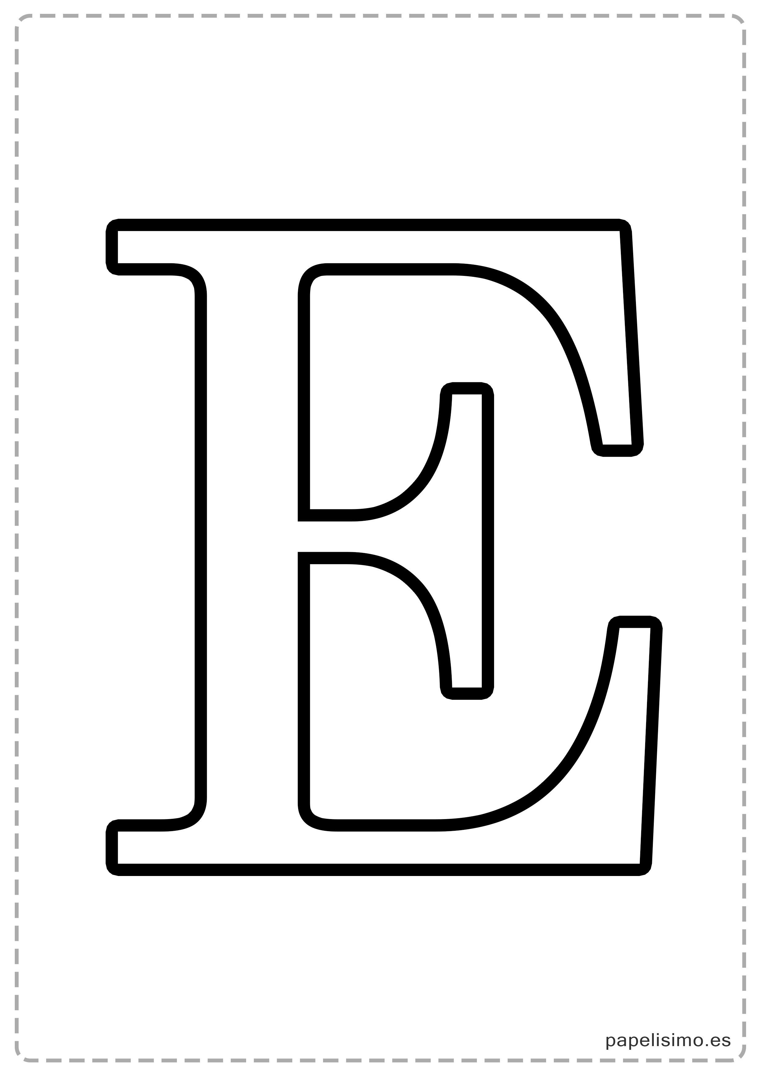 E Abecedario Letras Grandes Imprimir Mayusculas Jpg 2480 3508