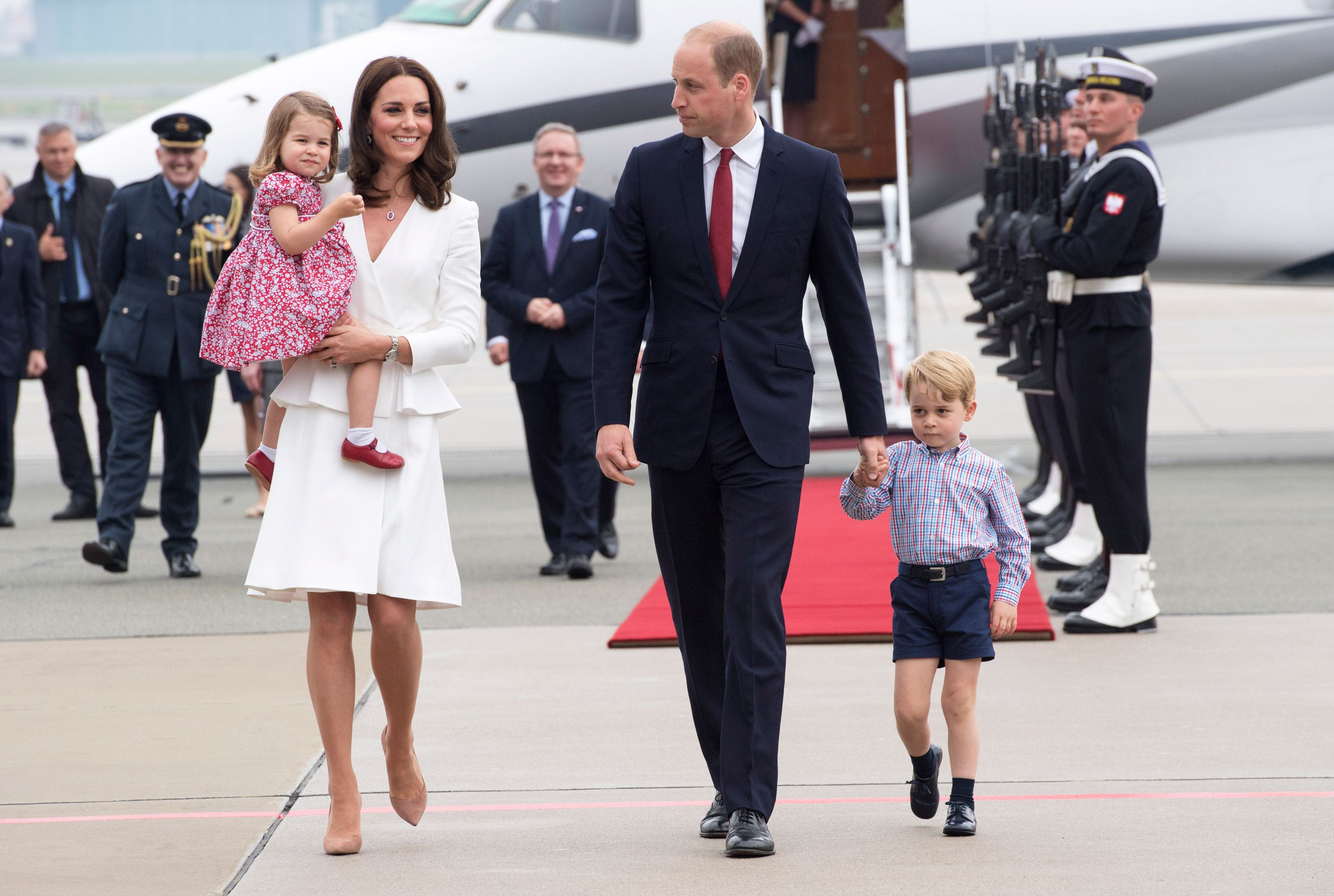 Kate Middleton Says That Prince William Struggled With Becoming a Father