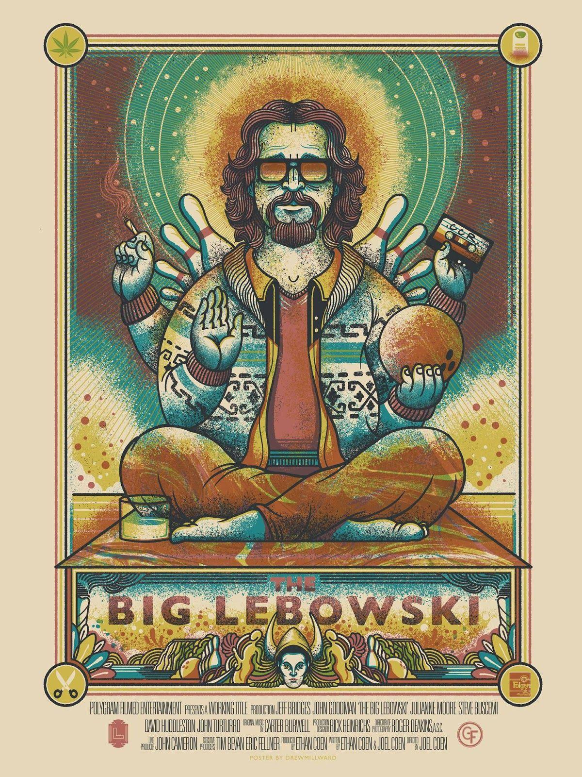 drew millward the big lebowski movie