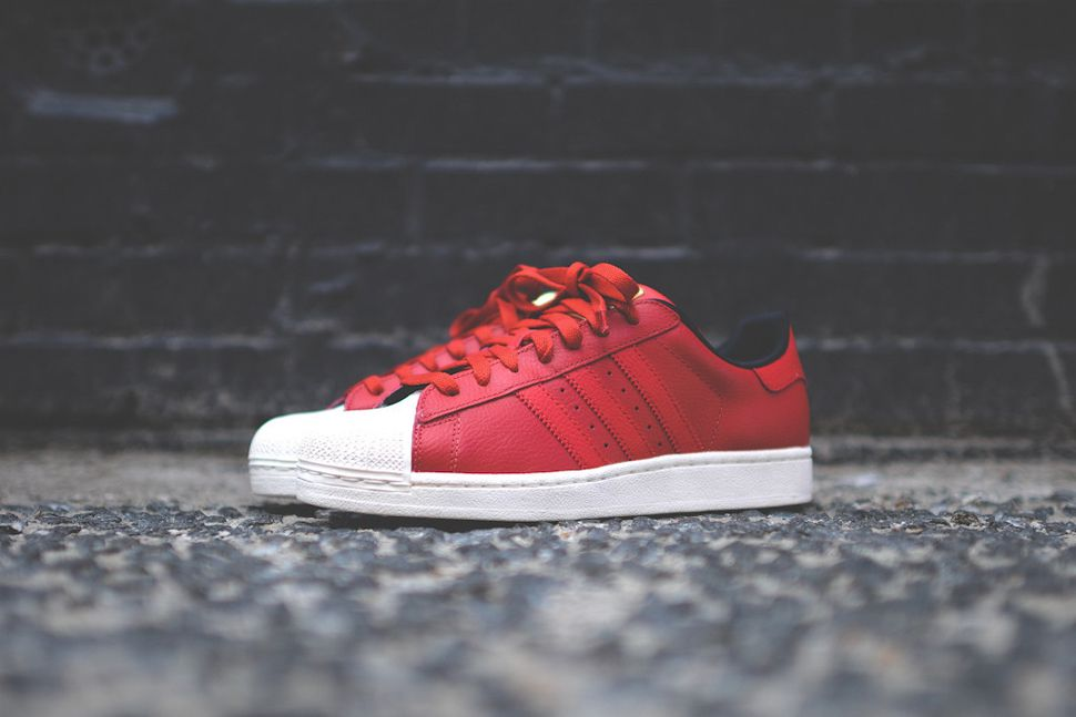 adidas Originals Superstar II Lux  Red df6773d55c79
