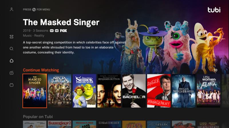 Tubi Enlarges Viewer Universe, Preloads App on LG Mobile