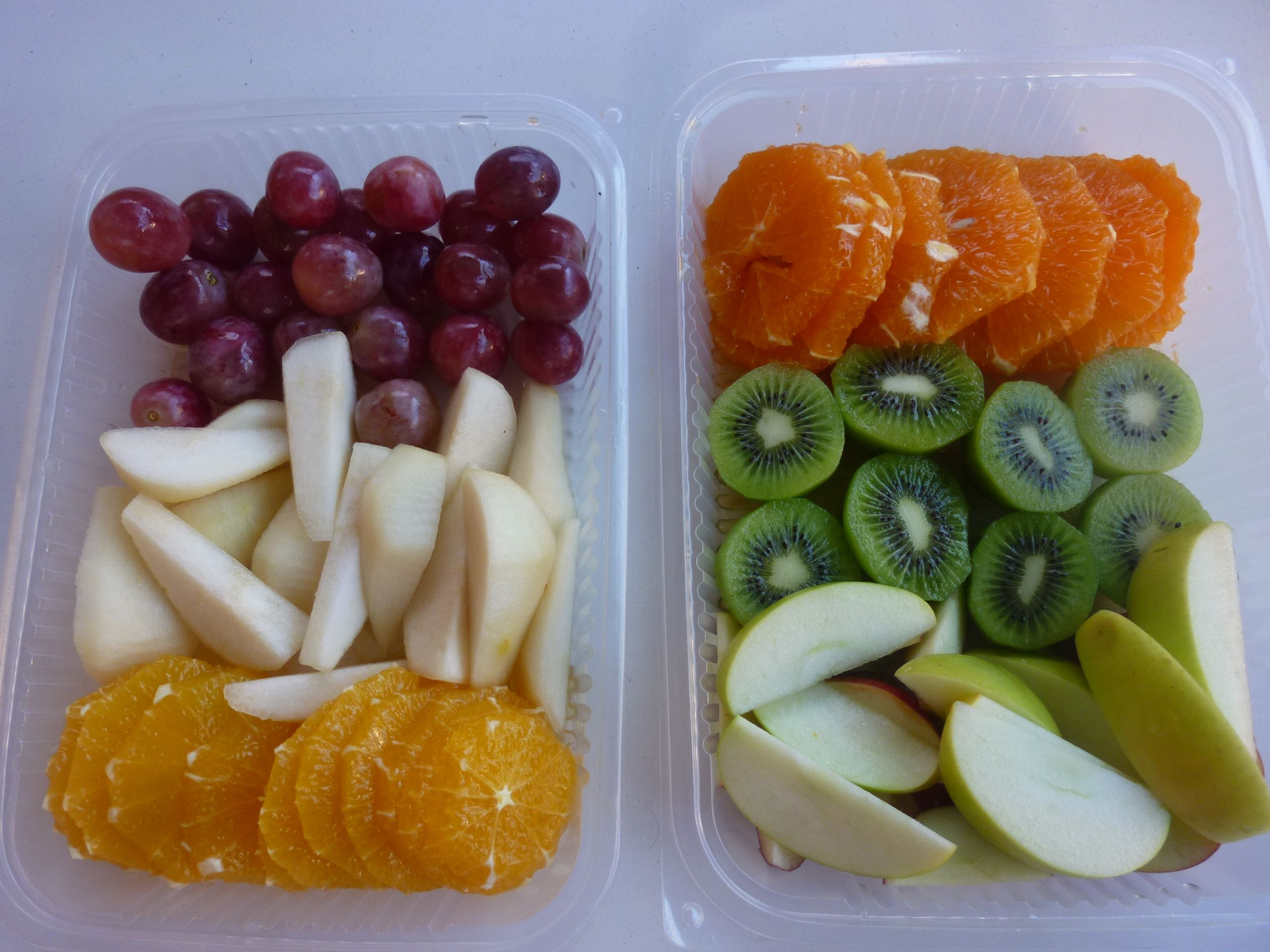 Frutas en bandejas para llevar a la oficina o tener listas en tu casa daily fruits by arte en - Fruta en la oficina ...