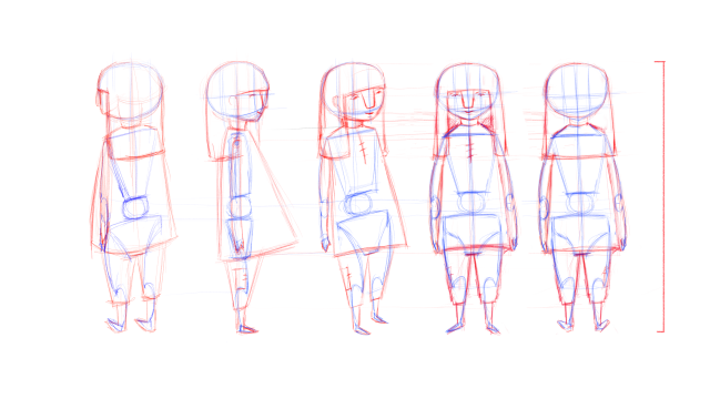 Construction Lines Characters Construction Lines Character Art