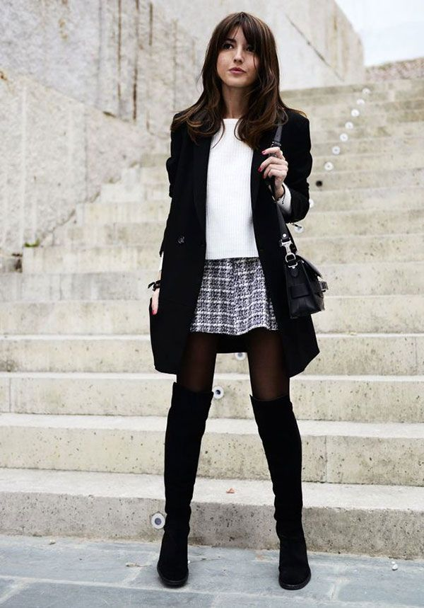 20 Style Tips On How To Wear Over-The-Knee Boots | Boots 2014 and ...