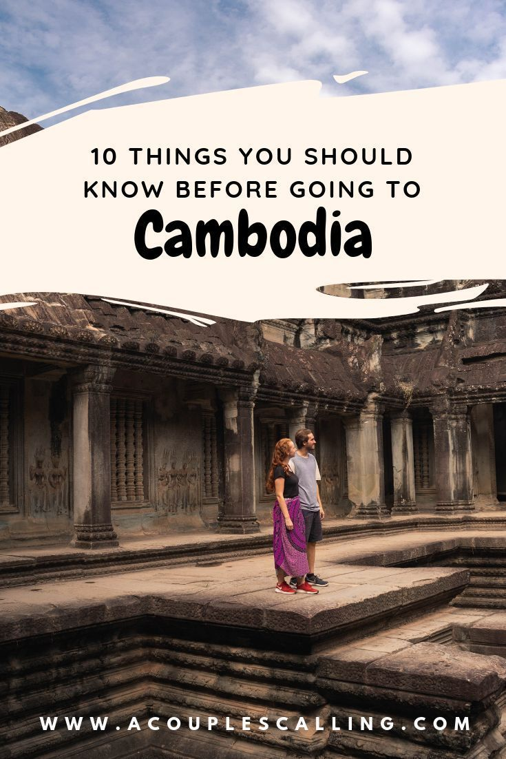 Cambodia is definitely a bucket list destination for many, especially the well known Angkor Wat of course! If you are planning to come to Cambodia, this post includes some Cambodia travel tips and tricks to help you with your journey. Click here for 10 things you should know before going to Cambodia!