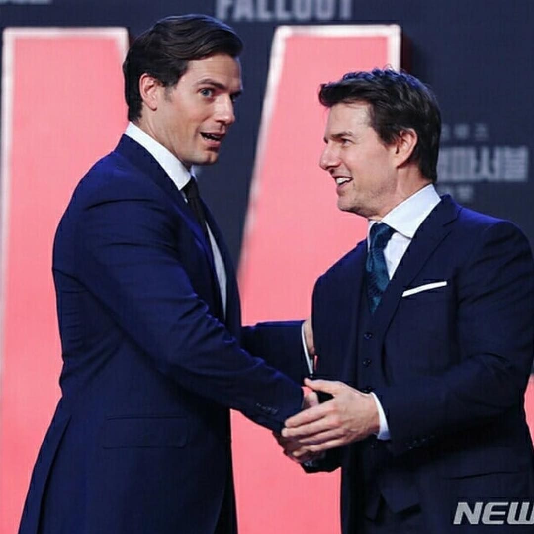 Hc Korea 2018 Tom Cruise Smile Tom Cruise Henry Cavill